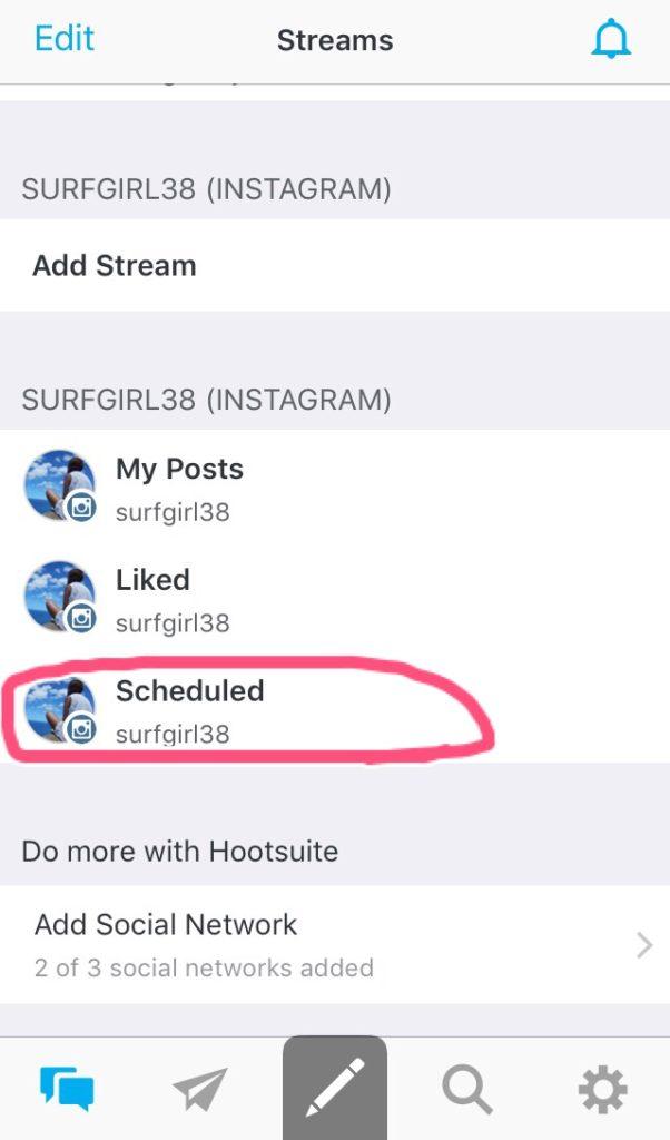 scheduled