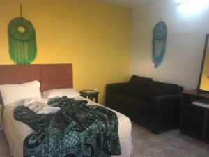 ホテルの個室