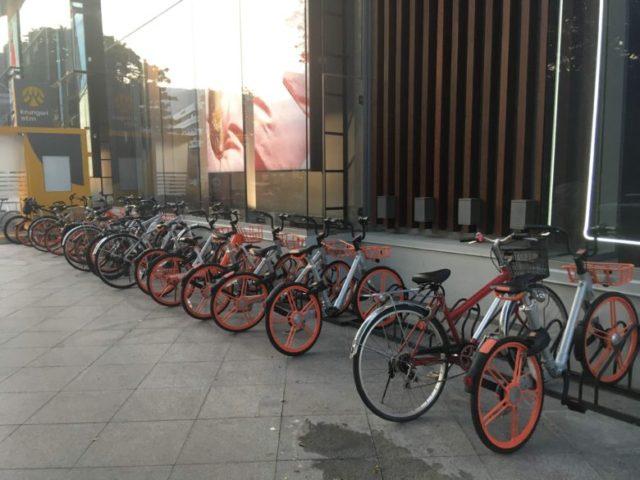 mobike駐輪場