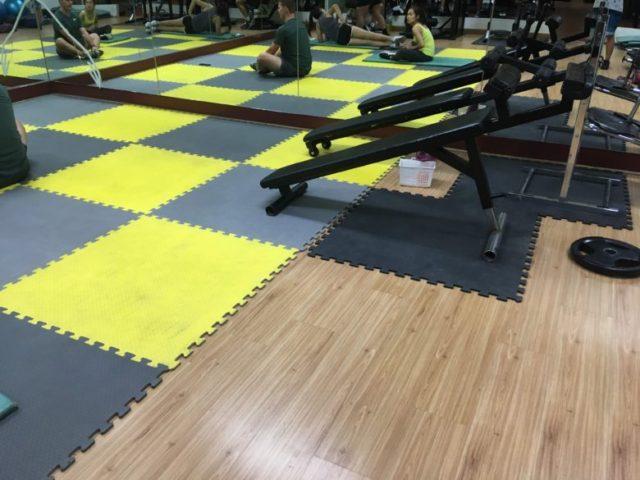 Gold Hillside Gym