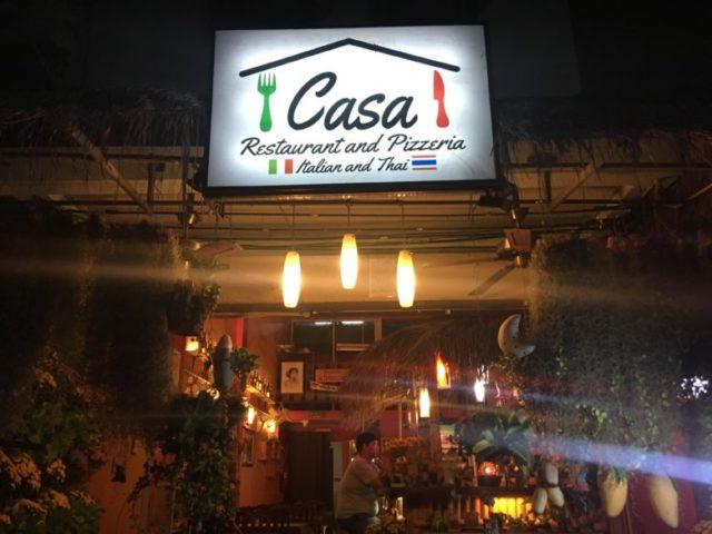 Casa Restaurant and Pizzeria