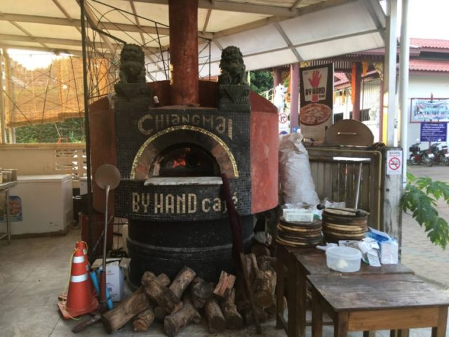 by hand pizza cafe