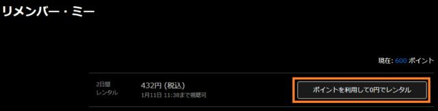 リメンバー・ミー2日間レンタル