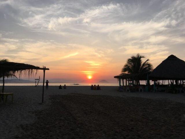 メキシコの海