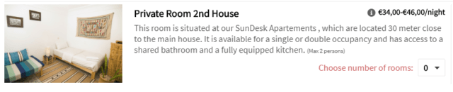 Sun DeskPrivate Room 2nd House