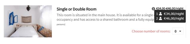 Sun DeskSingle or Double Room